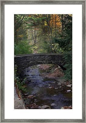 Autumn Creek Framed Print by J Allen