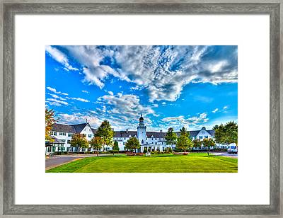 Autumn Day At The Sagamore Resort Framed Print by David Patterson