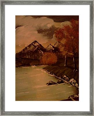 Autumn  Day  Framed Print by Renee McKnight