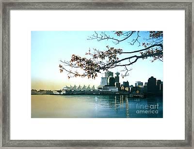 Autumn Daybreak Framed Print