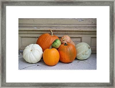 Autumn Days Framed Print by Paulette Thomas