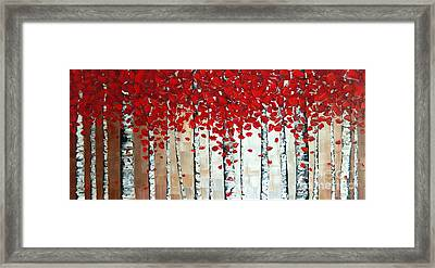 Autumn Framed Print by Denisa Laura Doltu