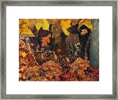 Autumn Framed Print by Denise Mazzocco