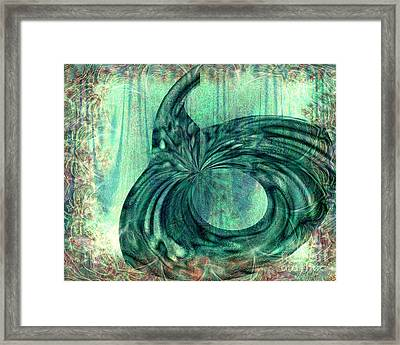 Autumn Dream Framed Print by Elizabeth S Zulauf