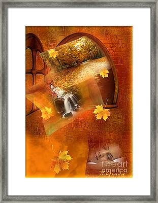 Autumn Dream Framed Print by Giada Rossi
