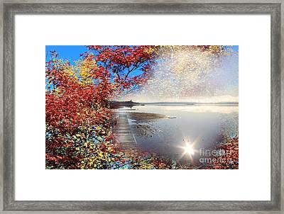 Autumn Dreaming Framed Print