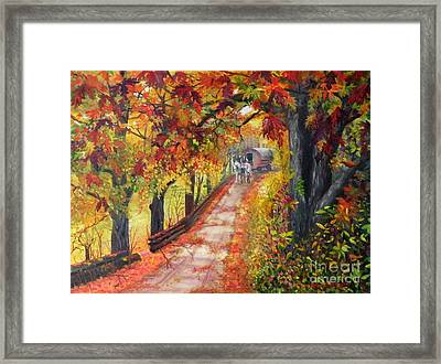 Autumn Dreams Framed Print