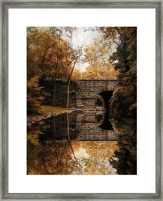 Autumn Echo Framed Print by Jessica Jenney