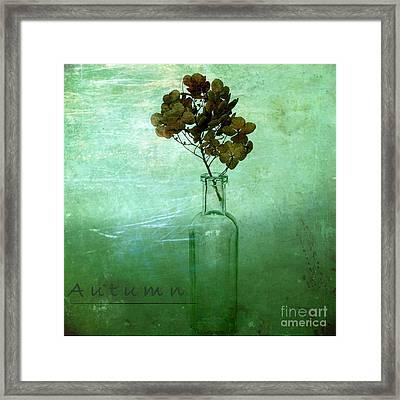 Autumn Framed Print by Elena Nosyreva