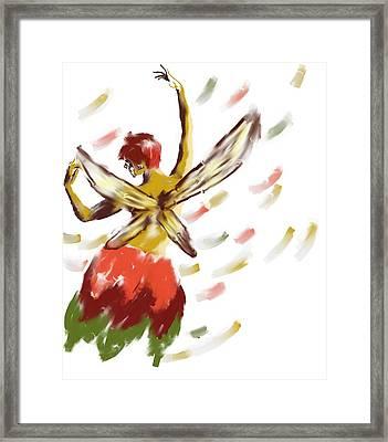 Autumn Fae Framed Print