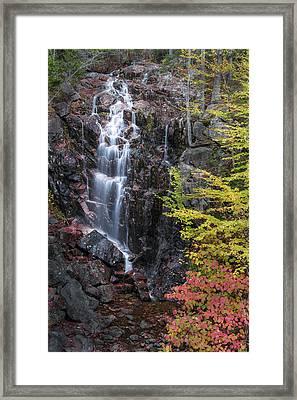 Autumn Falls Away Framed Print by Jon Glaser