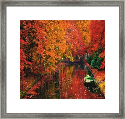 Autumn Fantasy Framed Print by Georgiana Romanovna