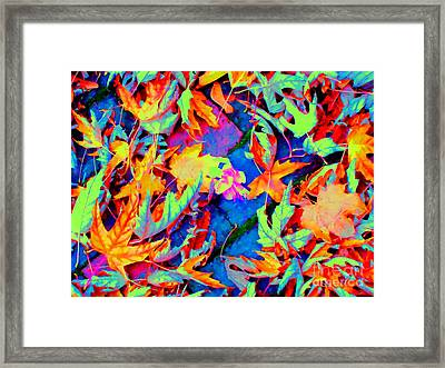 Autumn Fiesta Framed Print by Ann Johndro-Collins