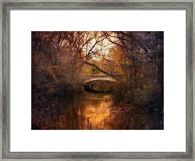 Autumn Finale Framed Print by Jessica Jenney