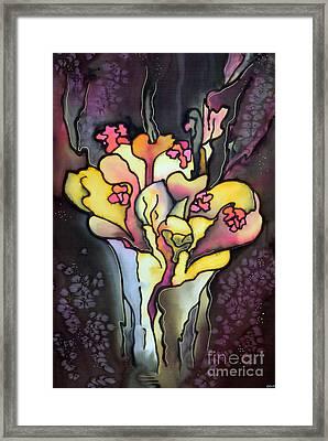 Autumn Fire Framed Print by Ursula Schroter
