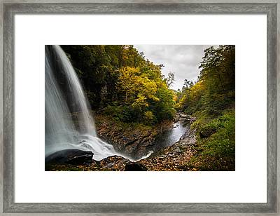 Autumn Flow Framed Print by Serge Skiba