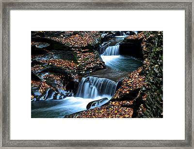 Autumn Flows Forth Framed Print by Frozen in Time Fine Art Photography