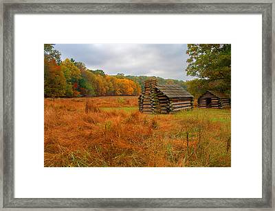 Autumn Foliage In Valley Forge Framed Print