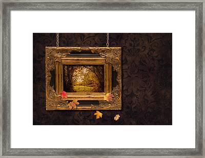Autumn Frame Framed Print