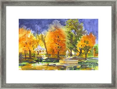 Autumn Gold Framed Print by Kip DeVore
