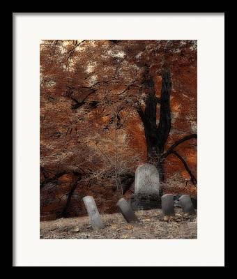 Mount Hope Cemetery Framed Prints
