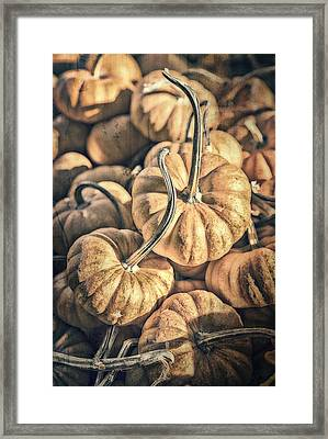 Autumn Grunge Framed Print