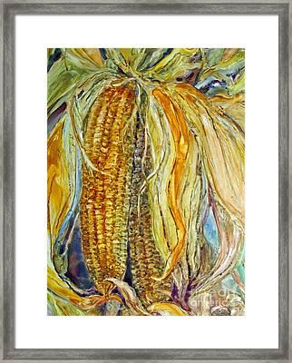 Autumn Harvest Framed Print by Louise Peardon