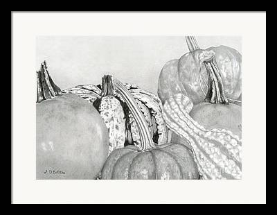 Agriculture Drawings Framed Prints