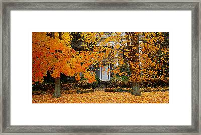 Autumn Homecoming Framed Print