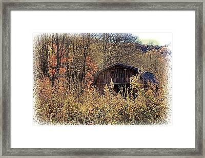 Autumn In Appalachia Framed Print by HH Photography of Florida