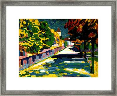 Autumn In Bavaria Framed Print by Wassily Kandinsky