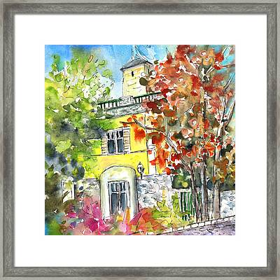 Autumn In Bergamo 02 Framed Print by Miki De Goodaboom