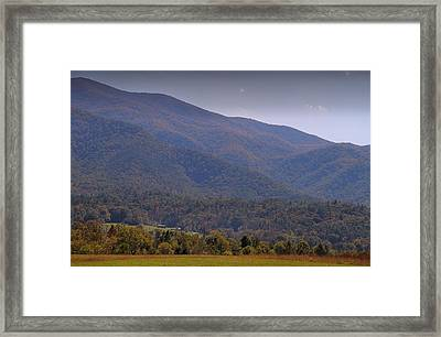 Autumn In Cades Cove Tennessee Framed Print by Dan Sproul