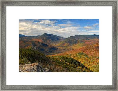 Autumn In Crawford Notch Framed Print