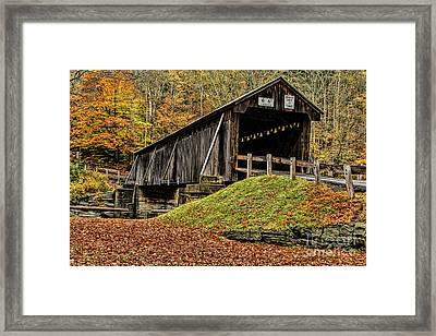 Autumn In Full Glory Framed Print by Deborah Benoit