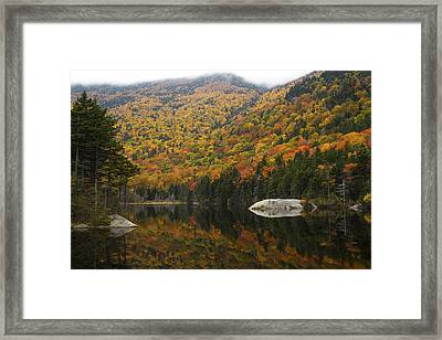 Autumn In Kinsman Notch Framed Print