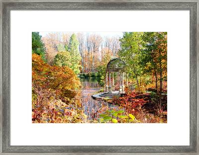 Autumn In Longwood Gardens Framed Print