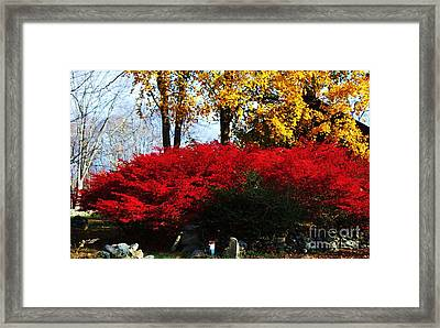 Autumn In New England 2 Framed Print by Marcus Dagan