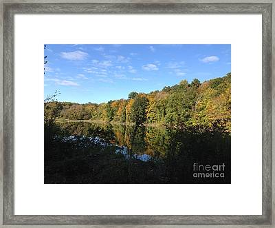 Autumn In New York Framed Print