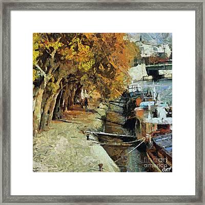Autumn In Paris Framed Print by Dragica  Micki Fortuna