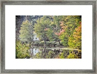 Autumn In Pastel Framed Print