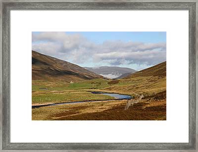 Autumn In The Cairngorms Framed Print by John Topman