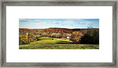 Autumn In The Country Framed Print