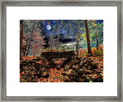 Autumn In The Meadow Framed Print