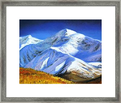 Autumn In The Mountains Framed Print by Tatyana Myasnikova