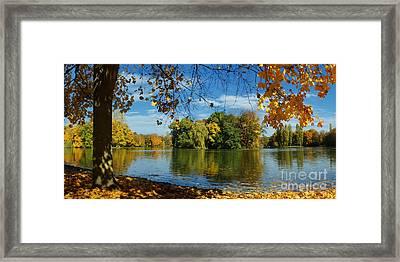 Autumn In The Park 2 Framed Print