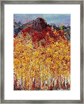 Autumn In The Pioneer Valley Framed Print