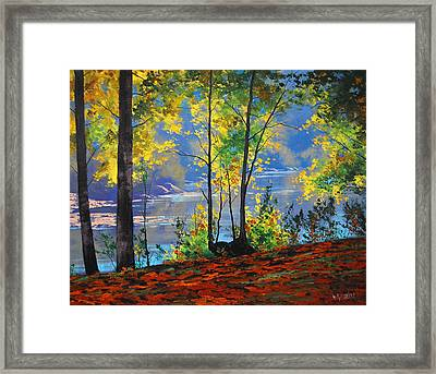 Autumn In Tumut Framed Print