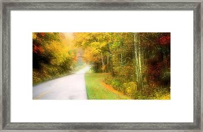 Autumn In Virginia Framed Print by Katie Wing Vigil