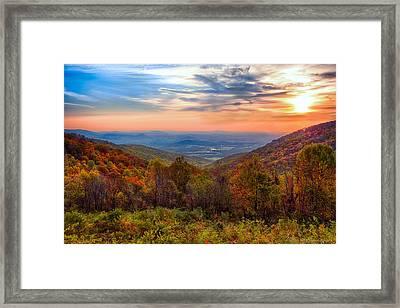 Autumn In Virginia Framed Print